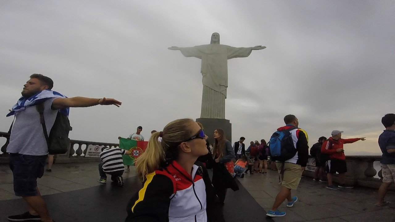 A trip to Rio- Statue of christ